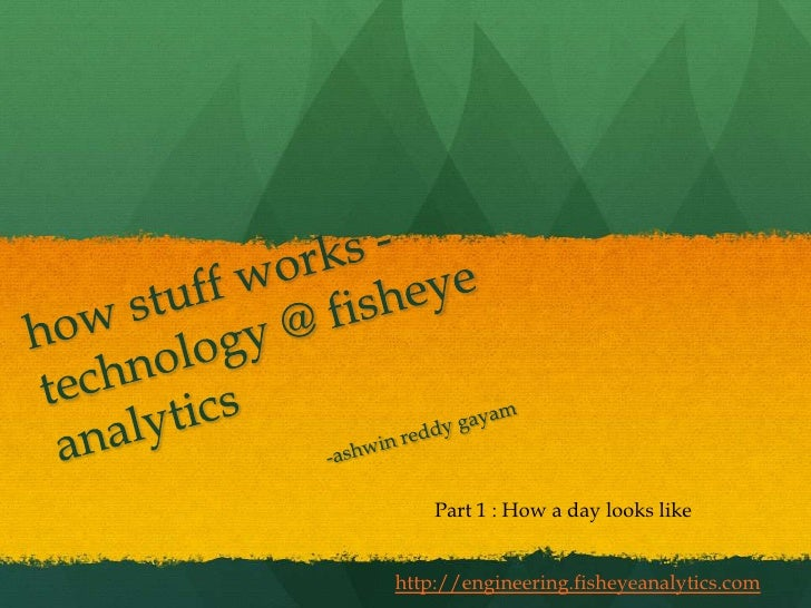 Technology @ Fisheye Analytics : How a day looks like in our server farm