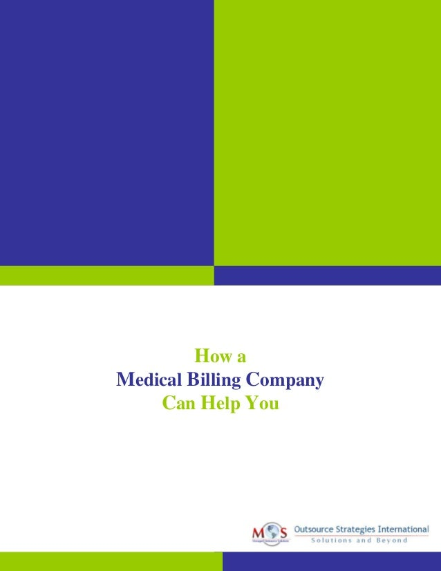 How a Medical Billing Company Can Help You