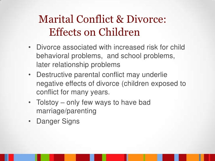 divorce is always bad for children essay When in the throes of a bad marriage i would venture to say that most think about the pros and don't consider the cons until a divorce is filed and they are either in the middle of you can lessen the impact on your children by making their needs for security your main priority during and after your divorce.