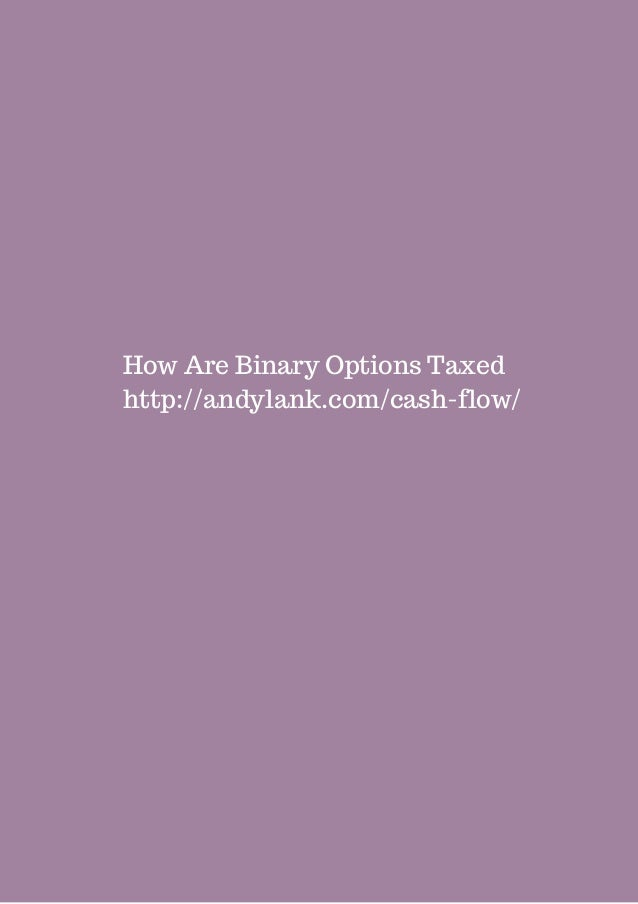 How to pay taxes on binary options binary options brokers list