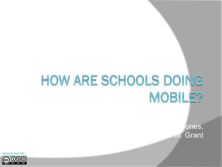 How Are Schools Doing Mobile?