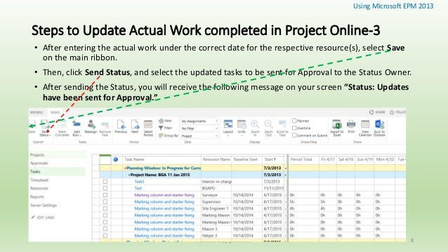 Online assignment work