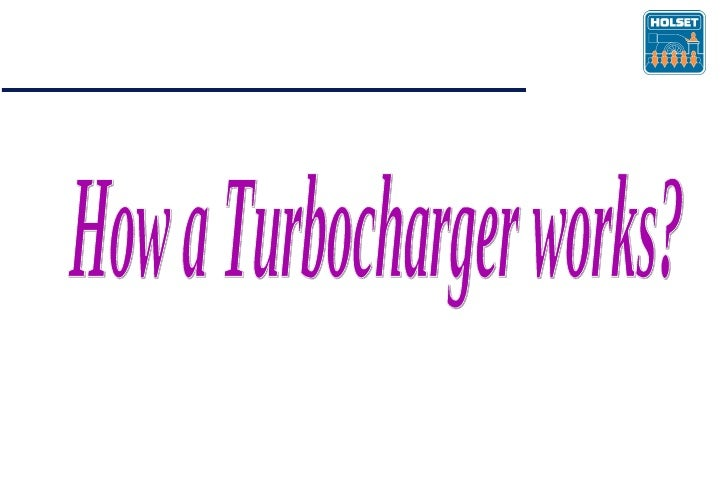 How a Turbocharger works?