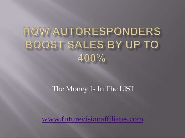 How Auto Responders Boost Sales By Up To 400% Using Automatic Email Response