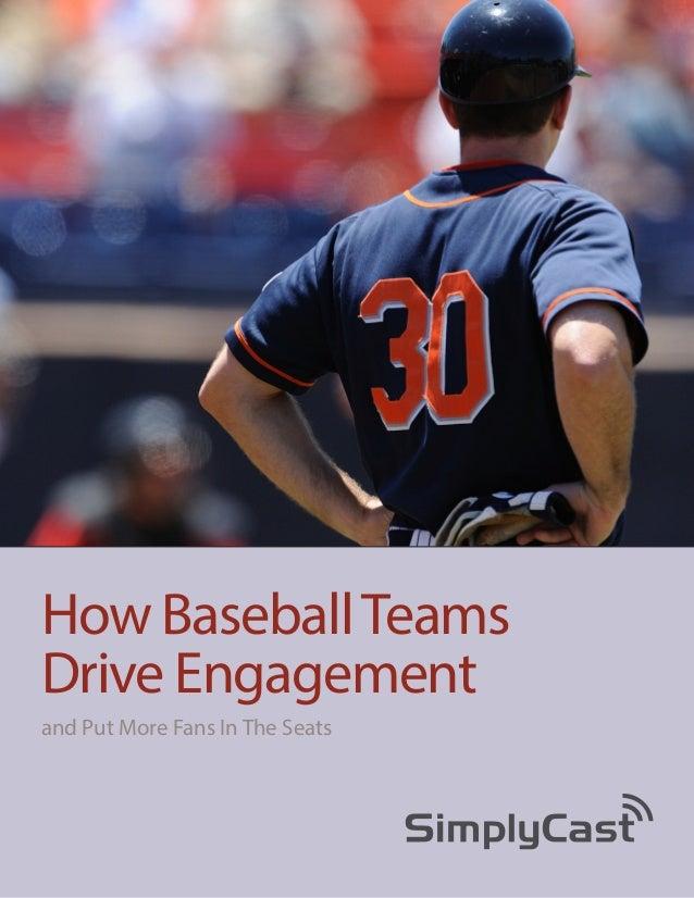 How Baseball Teams Drive Fan Engagement