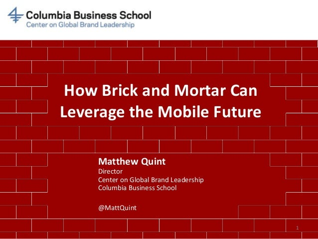 How brick and mortar can leverage the mobile future