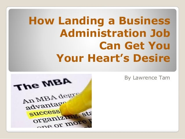 how to get a job in academic administration