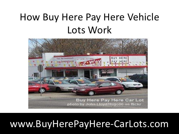 Secrets you Never Knew about Buy Here, Pay Here Car Lots
