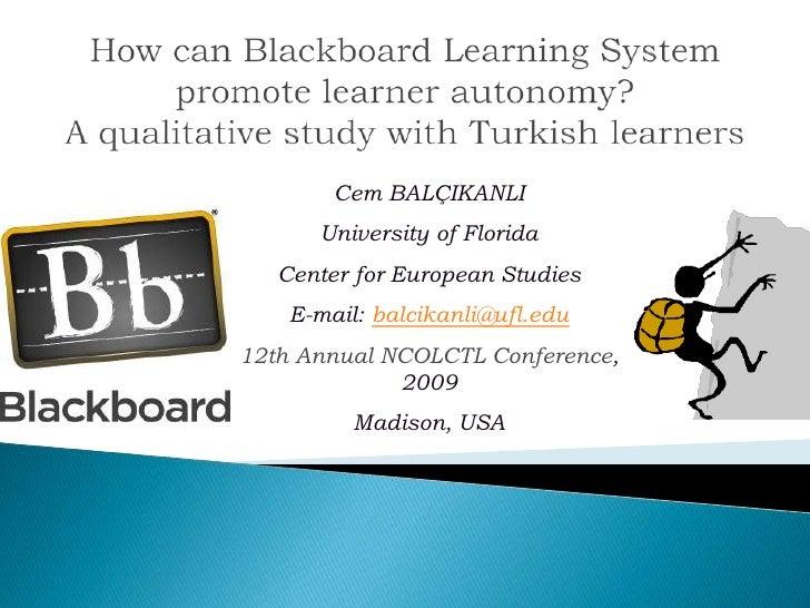 Cem BALÇIKANLI       University of Florida    Center for European Studies     E-mail: balcikanli@ufl.edu 12th Annual NCOLC...
