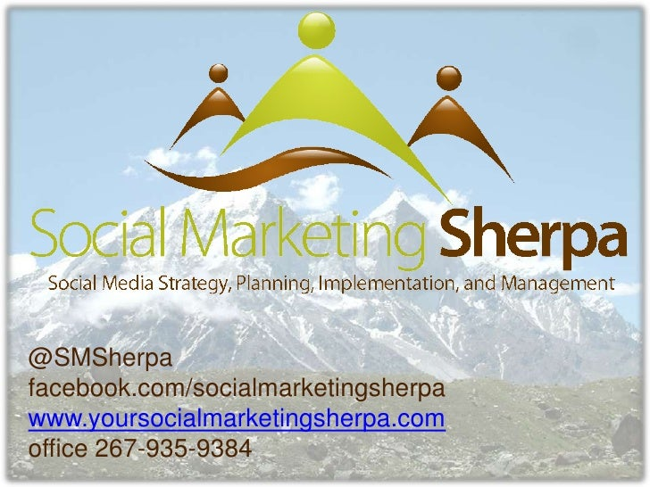 How can social marketing sherpa help your business