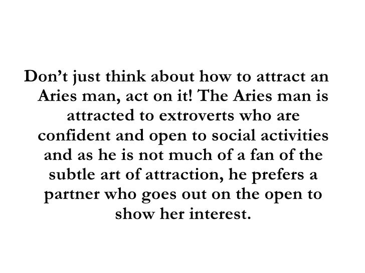 dating an aries man yahoo