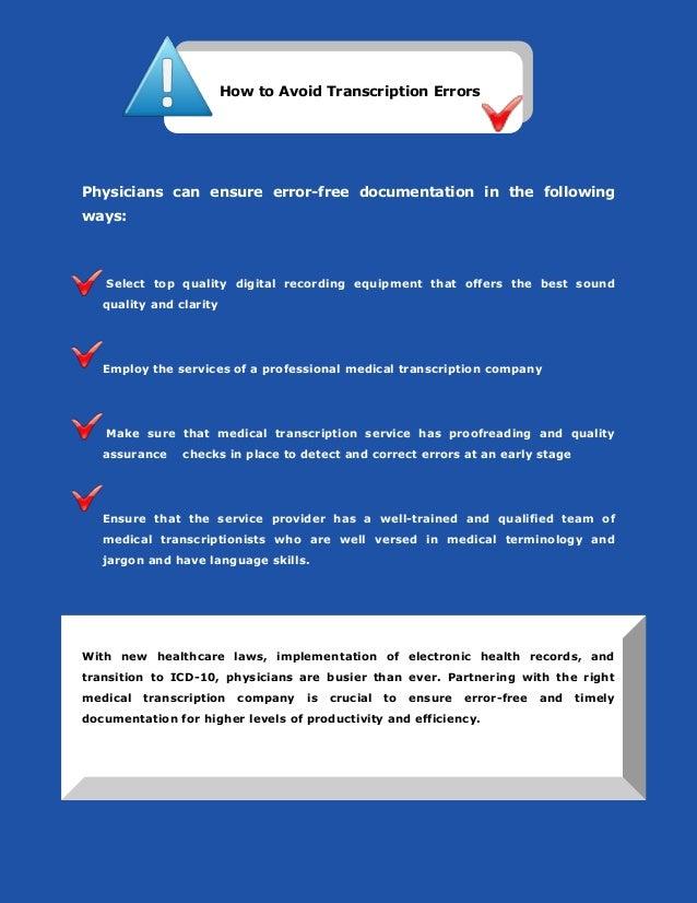 Medical Transcription Business Plan