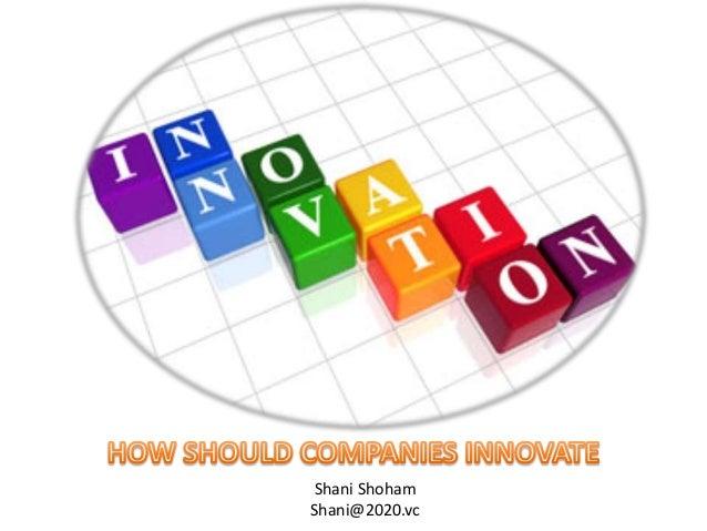 How Companies Innovate
