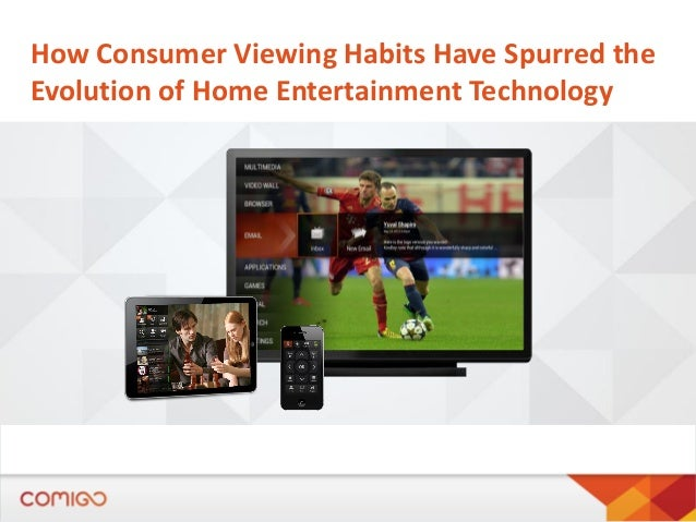 How Consumer Viewing Habits Have Spurred the Evolution of Home Entertainment Technology
