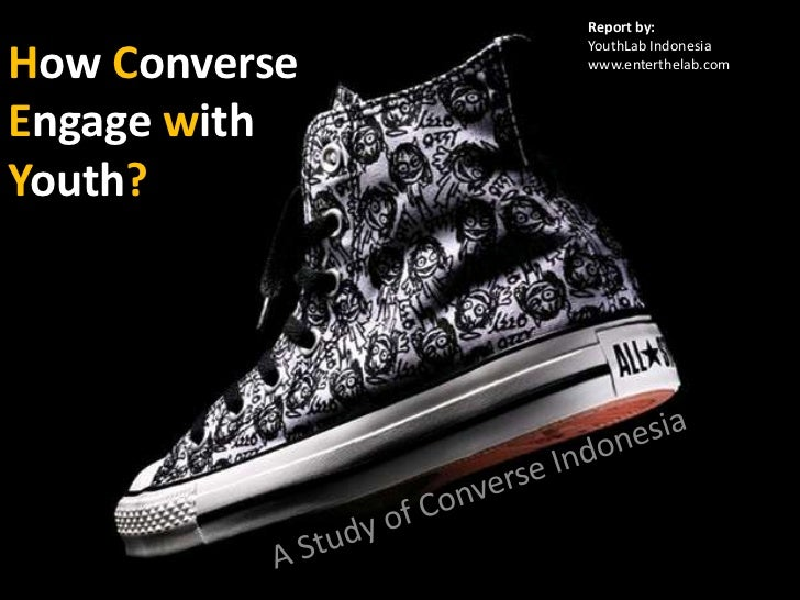 (youthlab indo) How converse are marketing with youth