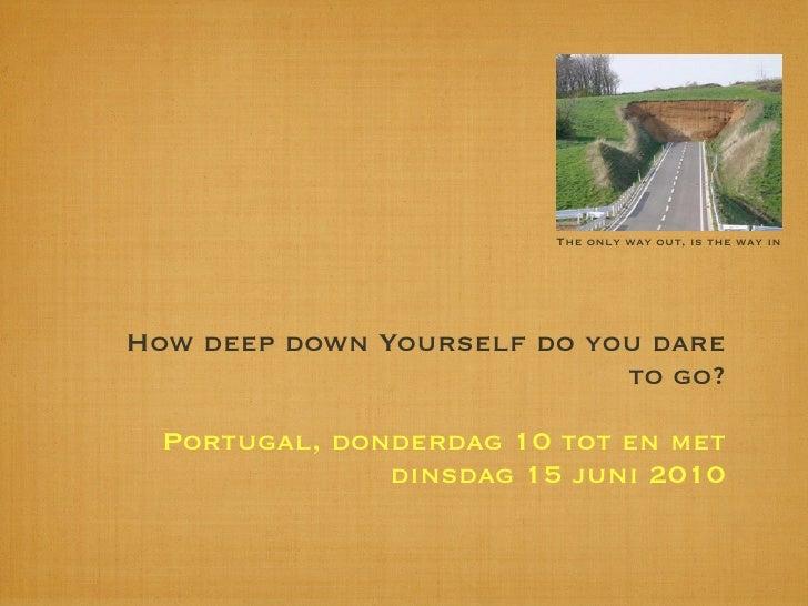 How Deep Juni 2010