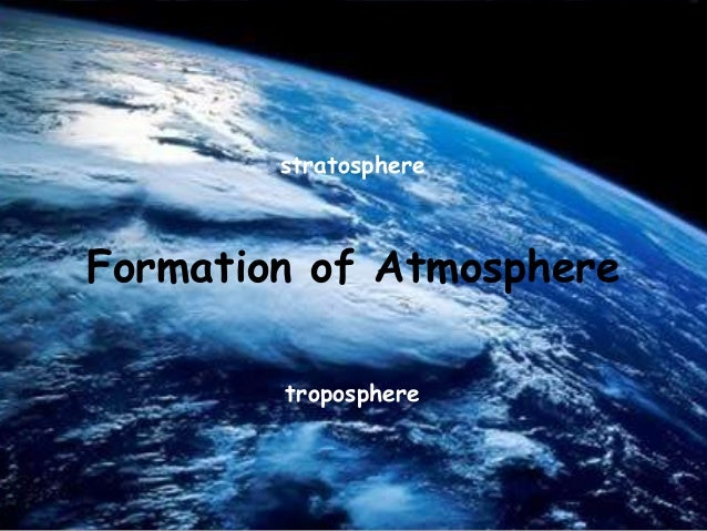How did atmosphere form
