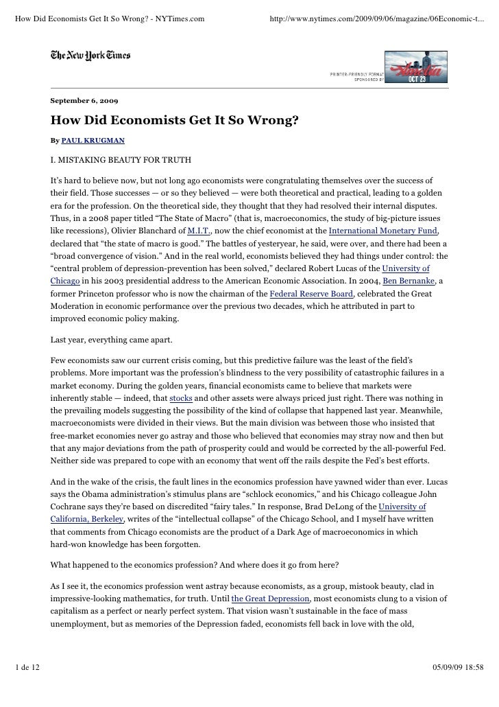 How Did Economists Get It So Wrong? - NYTimes.com                      http://www.nytimes.com/2009/09/06/magazine/06Econom...