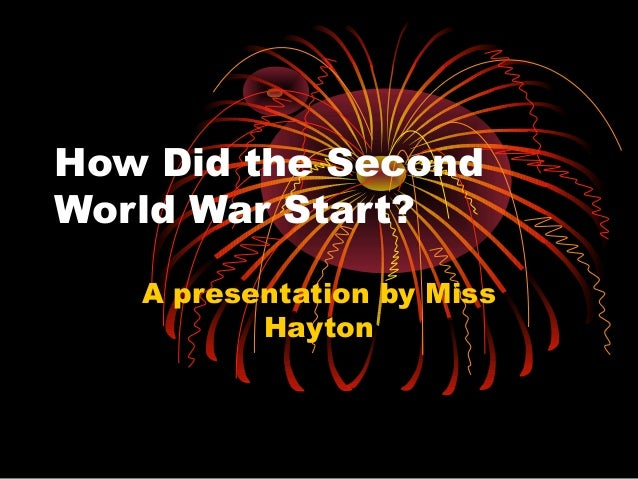 how ww2 started He created a deputy supreme commander under him, the talented marshal  zhukov, and began to step back more from the day-to- day conduct.