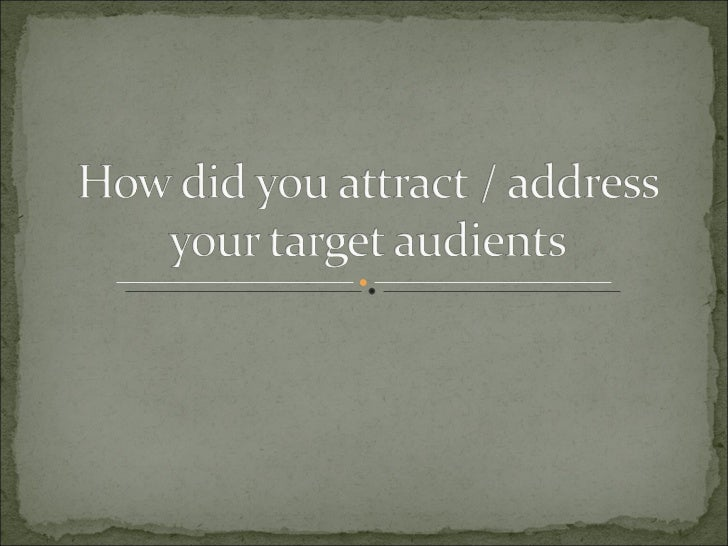 How did you attract question