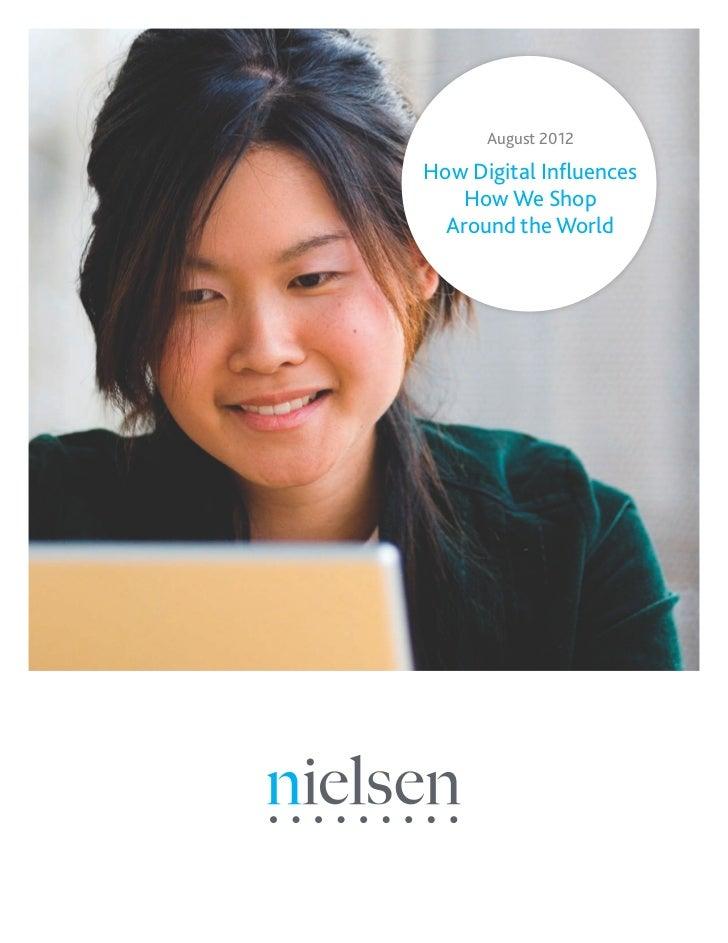 How digital influences how we shop around the world