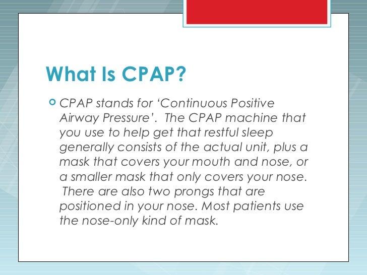 how do you get a cpap machine
