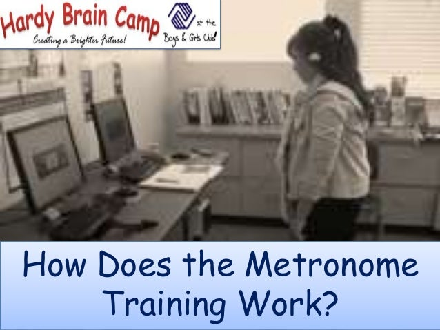 How Does the Metronome Training Work?