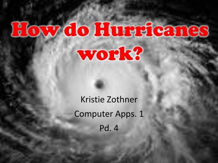 Kristie Zothner Computer Apps. 1 Pd. 4