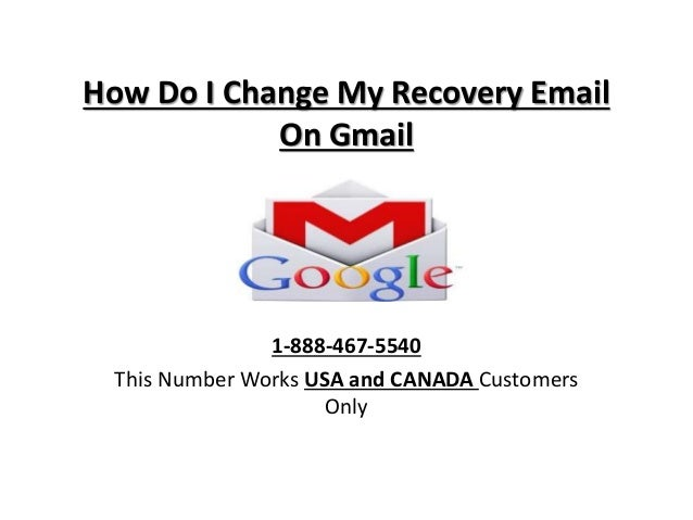 how to recover email and change phone for gmail