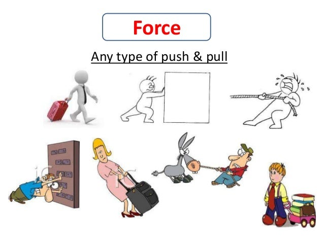 Push and pull for kids