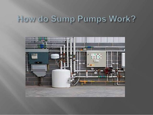 how do sump pumps work