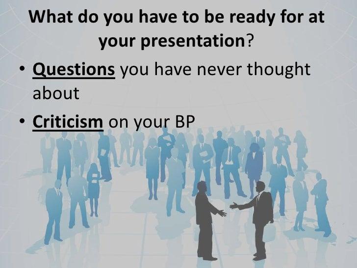 How do you do a business plan