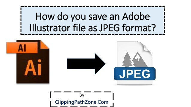 how to save as a jpeg