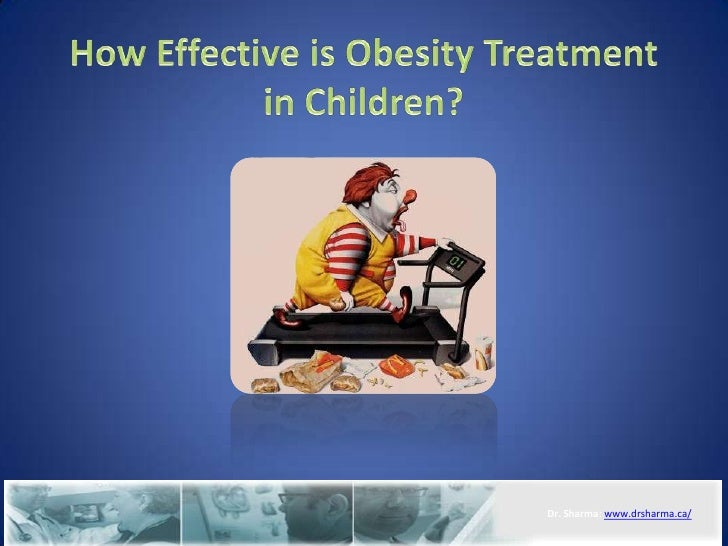 How effective is obesity treatment in children