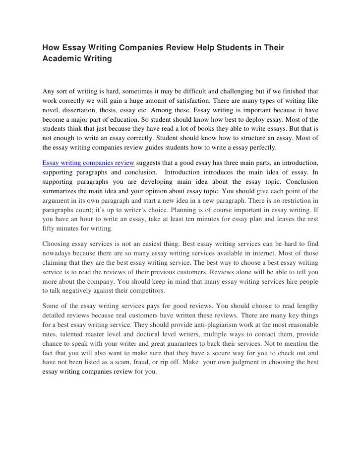General Essay Writing Tips - Essay Writing Center