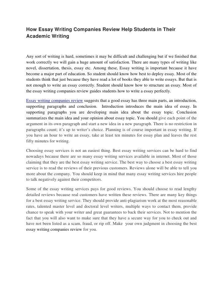 Cheap essay writing companies
