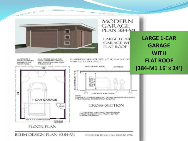How flat roof garages can be a better choice for Labor cost to build a garage
