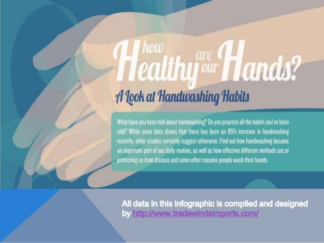 How Healthy Are Our Hands? Handwashing Habits And Health Concerns