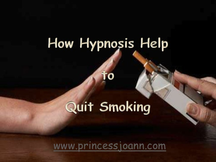 How hypnosis help quit smoking