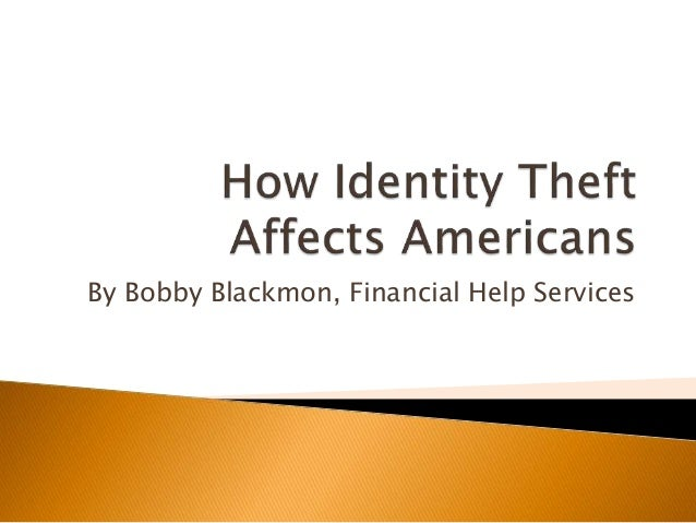 how theft affects society Fraud affects every community oct 29  the journal of the royal statistical society report identity theft.