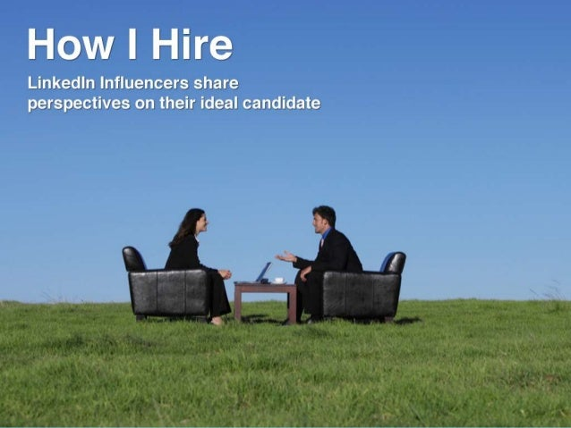 What do industry leaders look for when they hire?