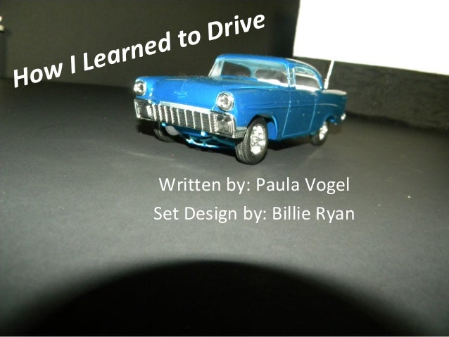 How I Learned to Drive Set Design