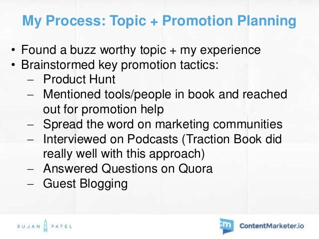 My Process: Launch MVP • Created a landing page • Got 500 pre-orders • Released a basic PDF copy  With a $1 stock image a...