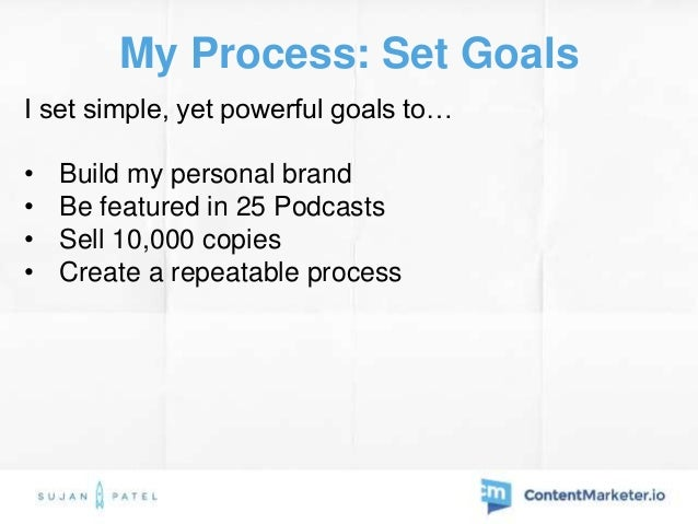 My Process: Promotion Tactics • Emailed 30-50 people included in ebook weekly  500+ people included in the ebook • Pitche...
