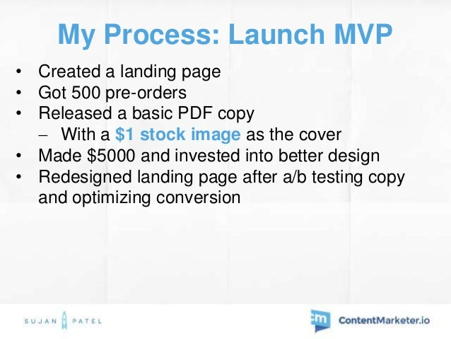 My Process: Sales Results • 2000+ sales from guest posts  Posted 1/week for 20 weeks (started 5 weeks before launch) • 20...