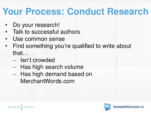 Your Process: Pricing & Monetization • $9 - $99 - if you're writing on a topic that can help people make money  $30 price...