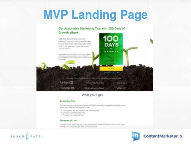 Landing Page After Validation www.100daysofgrowth.com