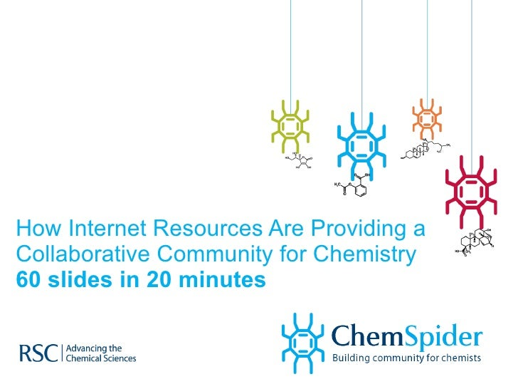 How Internet Resources Are Providing a Collaborative Community for Chemistry 60 slides in 20 minutes