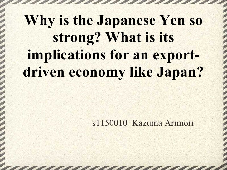 How is the_japanese_yen