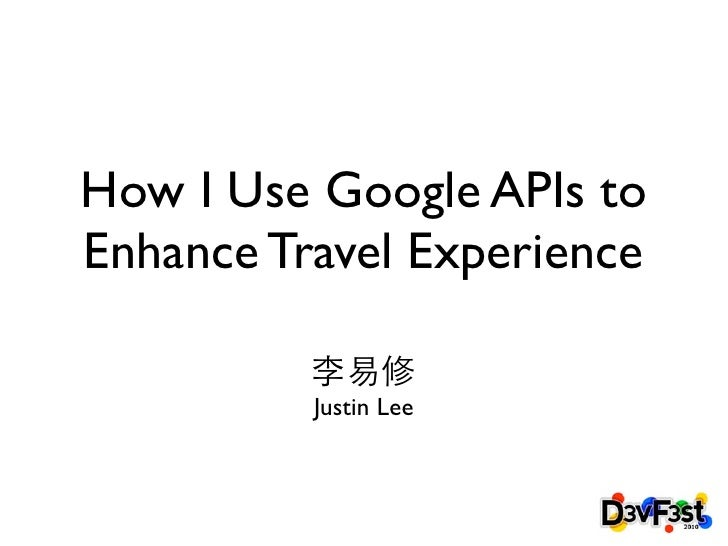 How I Use Google Technology to Enhance Travel Experience